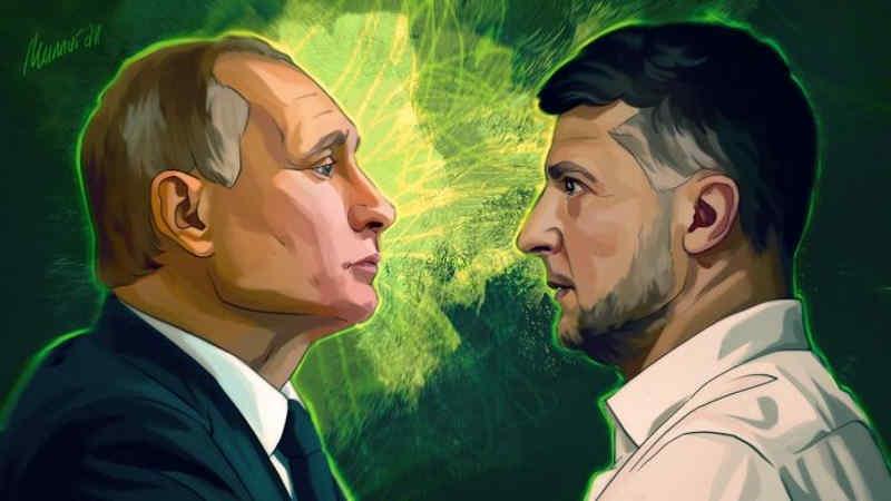 Пока Зеленский балоболит, Путин хозяйничает в Крыму