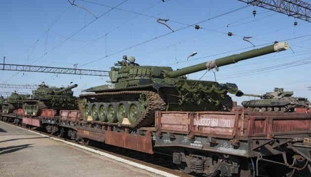 Московія додатково перекидає на Донбас танки, САУ та міномети — розвідка