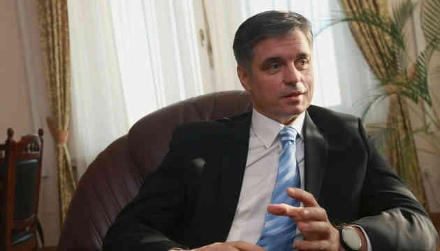 Робота нинішньої дипломатії не передбачає повних амністій бойовиків - Пристайко