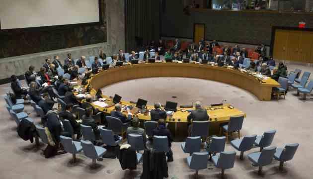 Україна направила Радбезу ООН лист через засідання по