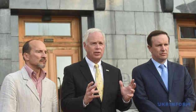 Сенатори після зустрічі з Зеленським сказали, коли США нададуть військову допомогу