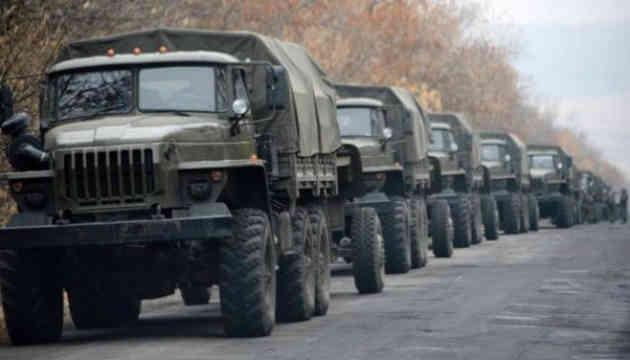 Московія перекинула на Донбас 30 вантажівок зі зброєю та 10 одиниць бронетехніки - розвідка