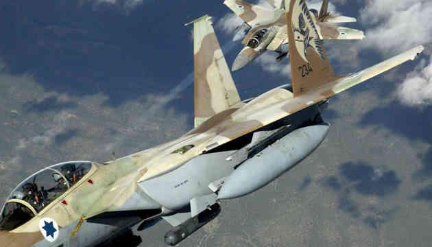 Від ізраїльських авіаударів загинули 15 сирійських урядових бійців