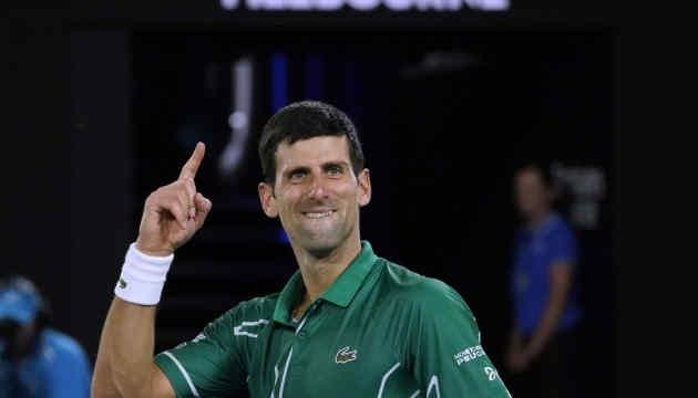 Джокович увосьме виграв Australian Open