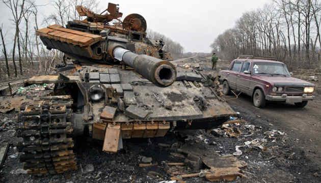 Назвали статистику втрат української бронетехніки за перші два роки АТО