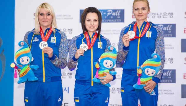 Жіноча збірна України стала чемпіоном Європи у стрільбі по рухомій мішені
