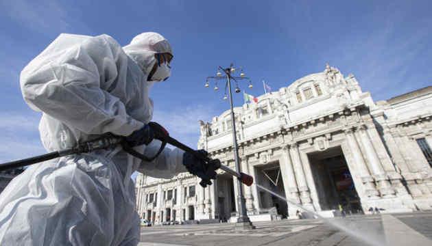 В Італії кількість померлих від коронавірусу перевищила 10 тисяч