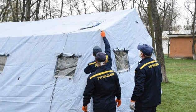 В Україні облаштували понад 200 пунктів прийому хворих на коронавірус