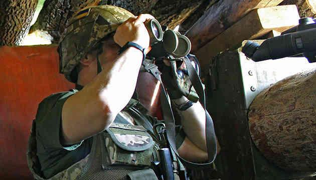 Окупанти обстріляли позиції ООС із великокаліберних кулеметів під Луганським