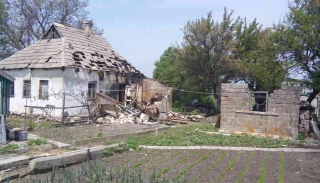Російські окупанти обстріляли житлові будинки у Красногорівці – штаб ООС