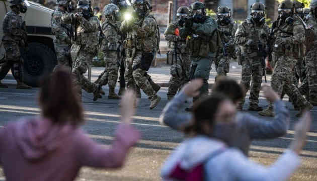 На протестах у США - вже понад 10 тисяч затриманих