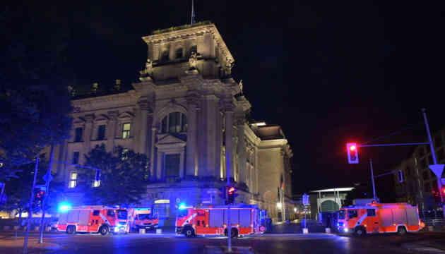 Невідомі намагалися підпалити Бундестаг