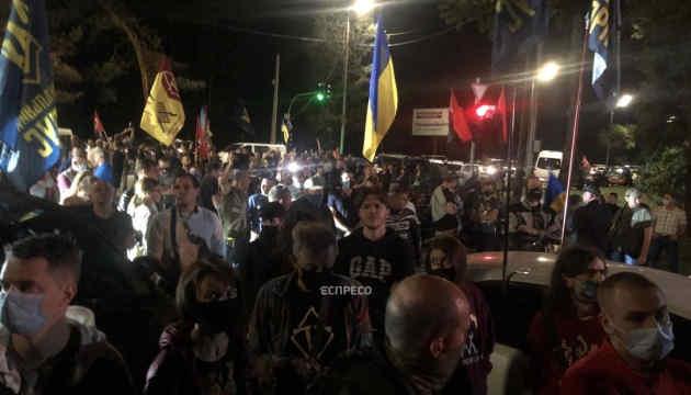 Активісти під резиденцією Зеленського у Конча-Заспі оголосили свої вимоги