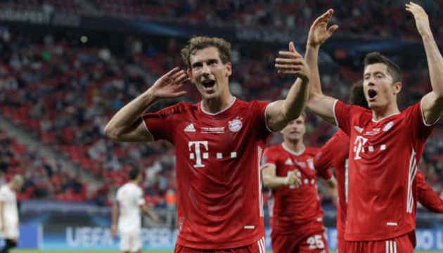 «Баварія» виграла Суперкубок УЄФА