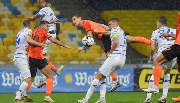 «Динамо» програло «Шахтарю» в українському «класико»
