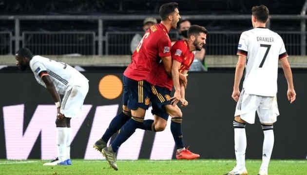 Іспанія розгромила Німеччину і вийшла до півфіналу Ліги націй УЄФА