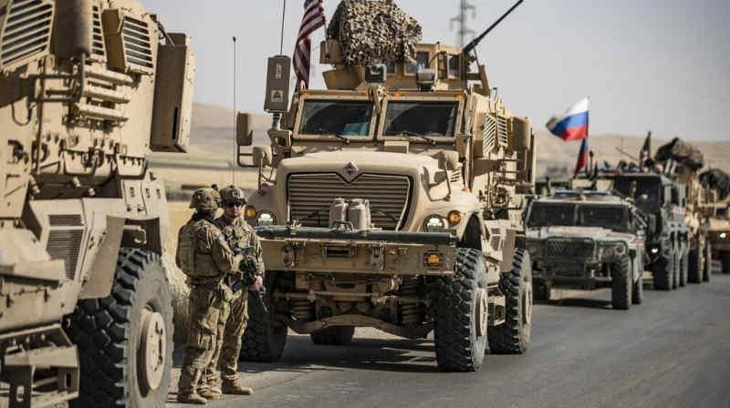 Напряжение между США и Россией растет в воздухе и на земле по всему миру