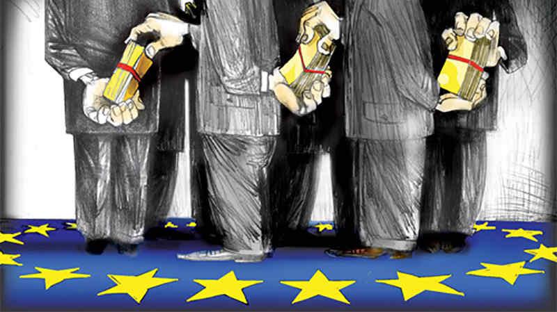Евросоюз разъедает коррупция