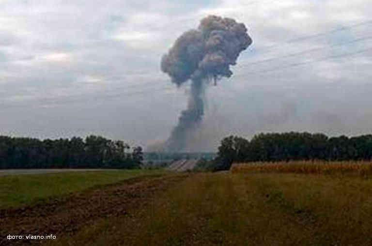 На військових складах в Калинівці на Вінниччині сталися вибухи