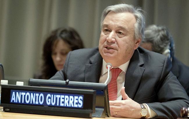 Генсек ООН закликав лідерів G20 скасувати мита та санкції через пандемію коронавіруса