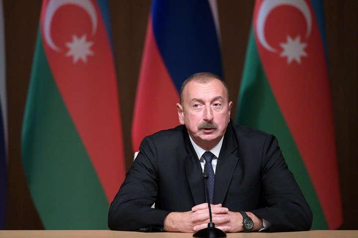 Президент Азербайджану підтвердив присутність на території країни турецьких винищувачів
