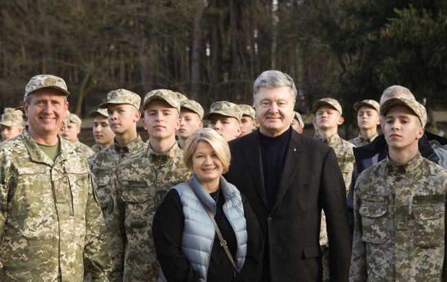 Петро Порошенко поїхав на Донбас