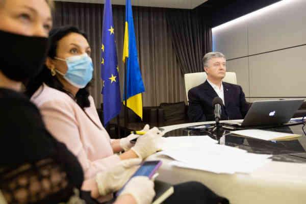 Петро Порошенко взяв участь у зустрічі лідерів Європейської народної партії з питань Східного партнерства