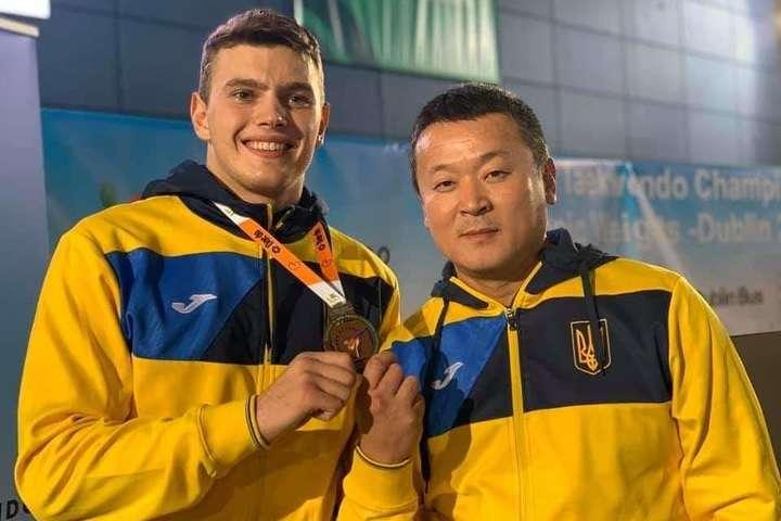 Українці вибороли ще три медалі на чемпіонаті Європи з тхеквондо