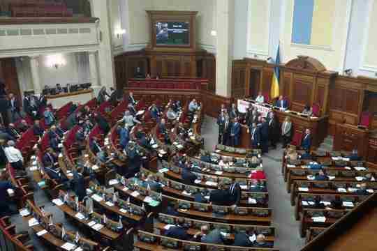Раді пропонують карати депутатів-прогульників громадськими роботами
