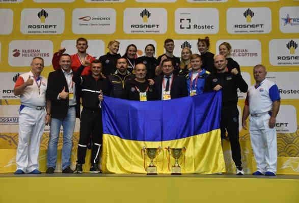 Українські самбісти завоювали шість медалей на ЧС у Чхонджу