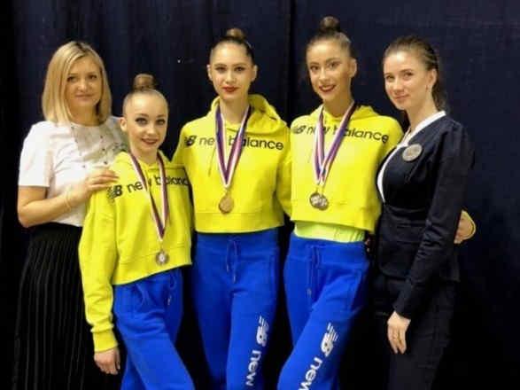 Українські гімнастки вибороли сім медалей на етапі Гран-Прі у Чехії