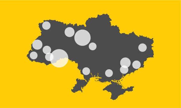 В Україні зафіксували вже 310 випадків коронавірусу