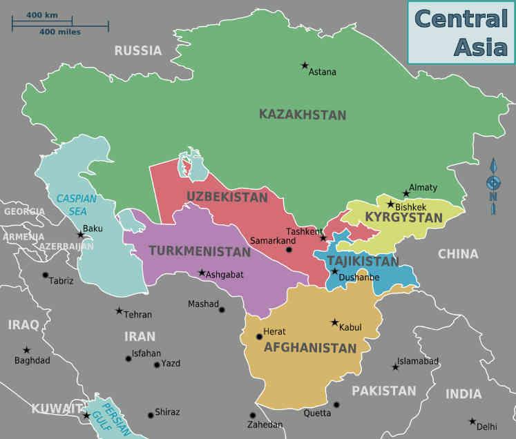 Россия - Центральная Азия и Афганистан