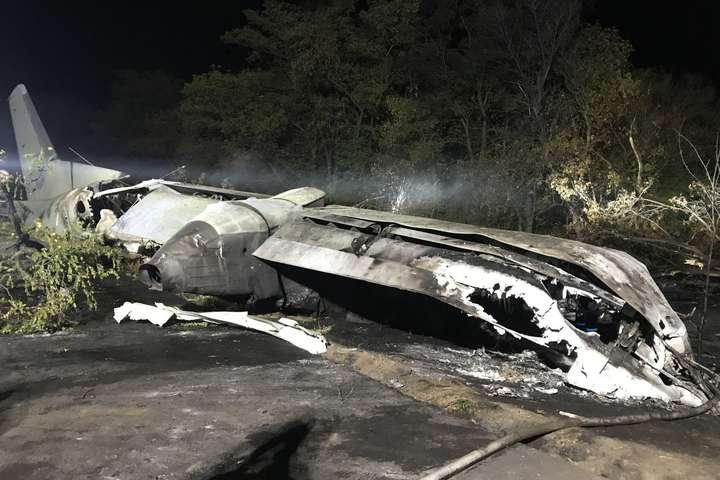 Офіс генпрокурора буде розслідувати падіння літака, як порушення правил польотів