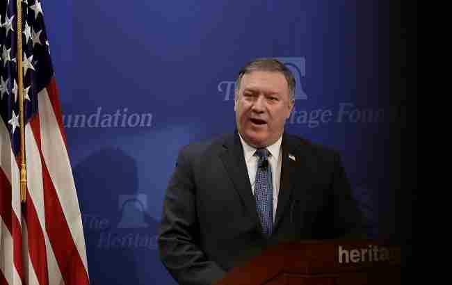 Помпео пригрозив Росії та Ірану санкціями за вбивства мирних сирійців