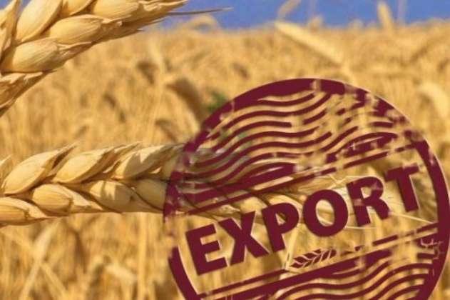 В Україні зафіксовано спад експорту зернових