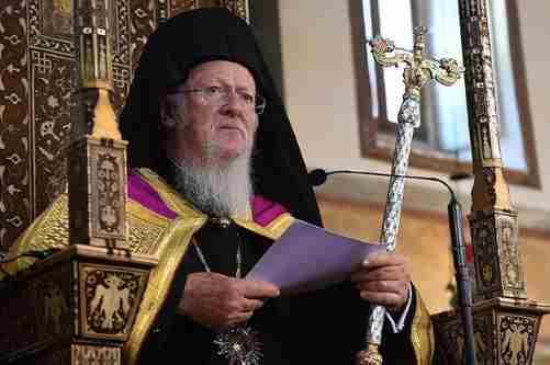 Варфоломій заявив, що Константинополь не буде втручатися у внутрішні справи української церкви