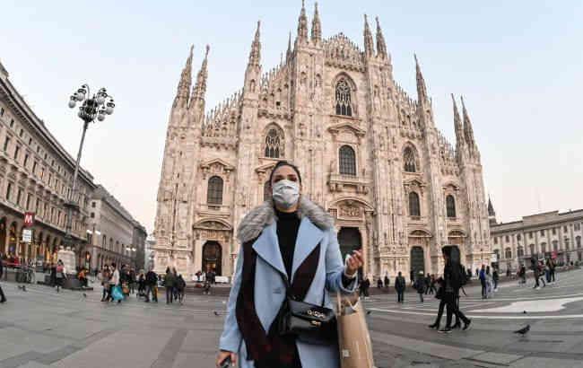 У п'яти регіонах Італії за добу не зафіксували нових випадків коронавірусу