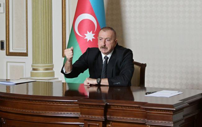 Президент Азербайджану оголосив про звільнення нових територій
