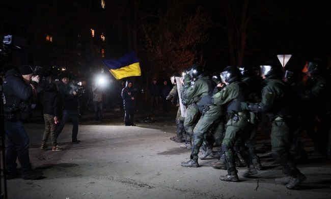 Поліція готує підозри 23 учасникам сутичок у Нових Санжарах