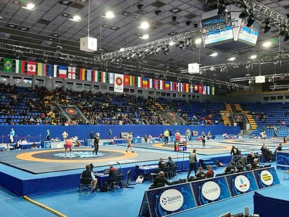 Українці вибороли десять медалей на міжнародному турнірі з боротьби у Києві