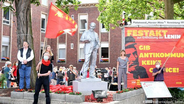 Сюр якийсь!: У Західній Німеччині з'явився перший пам'ятник Леніну