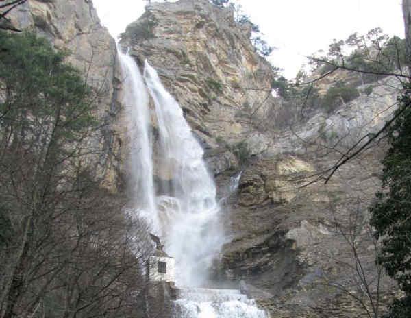 У Криму зник найбільший водопад на півострові і найвищий в Україні