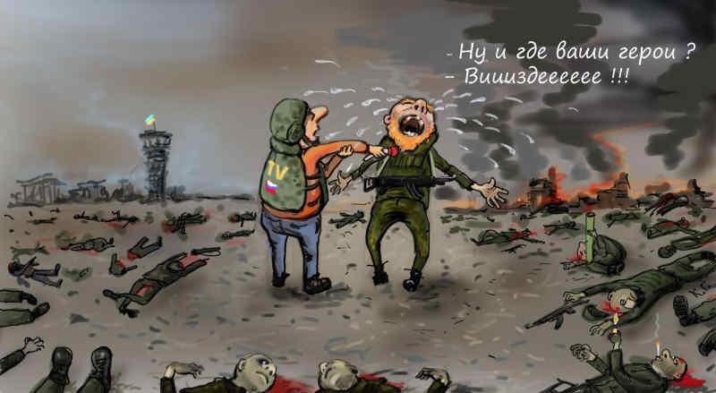 Втрати російсько-окупаційних військ за поточний тиждень