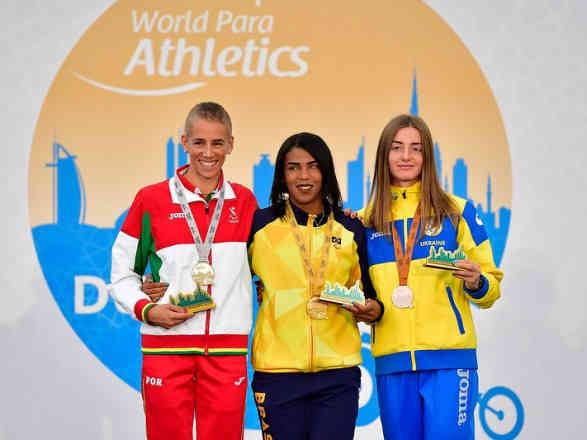 Українці вибороли п'ять нагород на старті ЧС з легкої атлетики серед паралімпійців