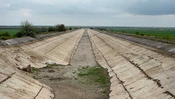 Запаси води в окупованому Криму зменшились вдвічі у порівнянні з минулим роком