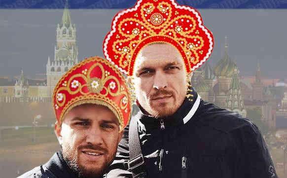 Вперед із піснею за порєбрік!: Православнутим боксерам Ломаченку та Усику запропонували російське громадянство