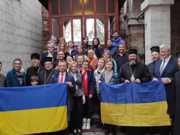 На Фанарі вперше звершили літургію українською мовою
