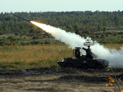 В районі ООС провели навчання з протиповітряної оборони