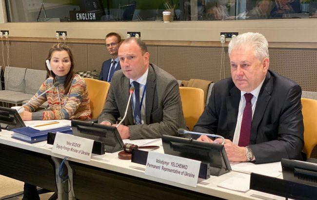 Україна представила в ООН оновлену резолюцію по Криму